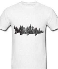 Musky Pine Forest Treeline Fishing Angler 2 1 247x296 - Musky Pine Forest Treeline Fishing Angler