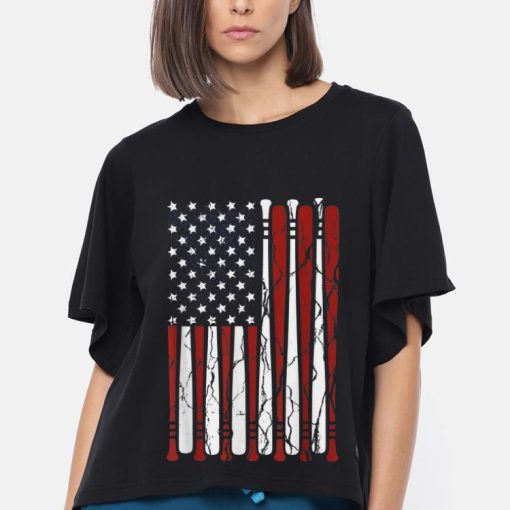 Nice American Flag Baseball Bat 4th Of July Independence Day shirt 3 1 510x510 - Nice American Flag Baseball Bat 4th Of July Independence Day shirt