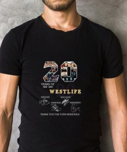 Official 20 years of Westlife thank you for your memories shirt 2 1 247x296 - Official 20 years of Westlife thank you for your memories shirt
