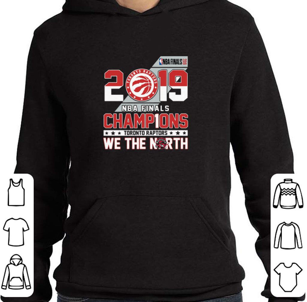 reputable site 2ace5 731b9 Official 2019 NBA Finals champ1ons Toronto Raptors we the north shirt