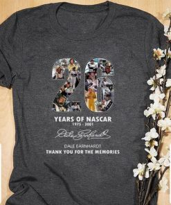 Official 26 years of Nascar 1975 2001 Dale Earnhardt thank you for the memories shirt 1 1 247x296 - Official 26 years of Nascar 1975-2001 Dale Earnhardt thank you for the memories shirt