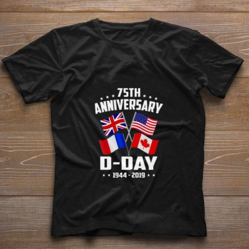 Official 75th Anniversary D Day 1944 2019 shirt 1 1 510x510 - Official 75th Anniversary D-Day 1944-2019 shirt