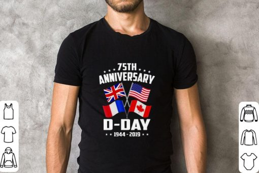 Official 75th Anniversary D Day 1944 2019 shirt 2 1 510x340 - Official 75th Anniversary D-Day 1944-2019 shirt