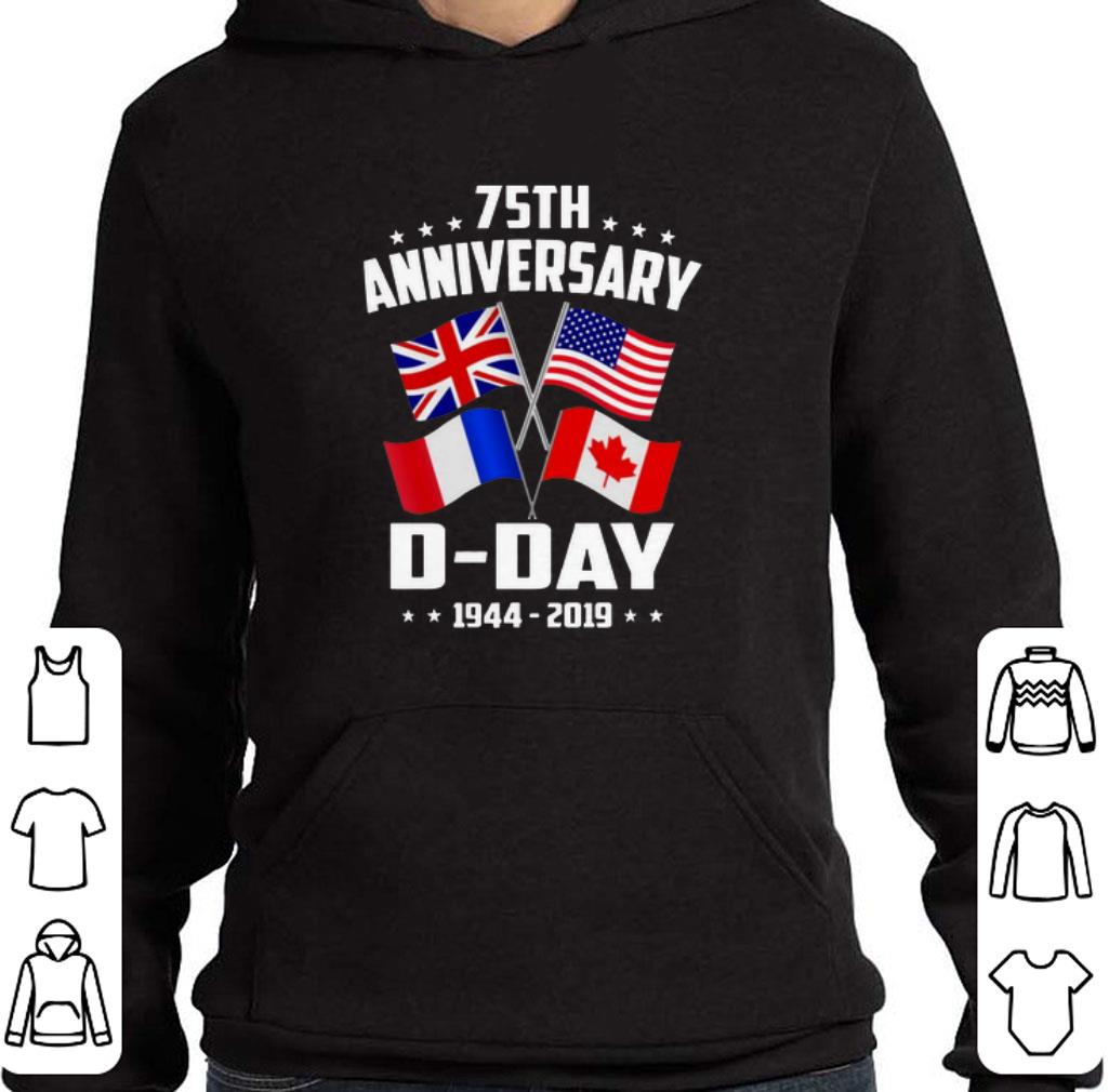 Official 75th Anniversary D-Day 1944-2019 shirt