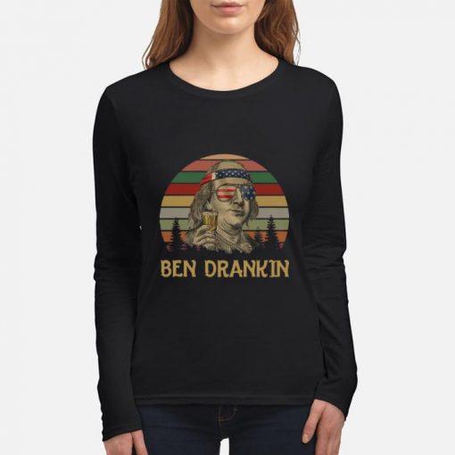 Official Ben Drankin Benjamin Franklin American sunset shirt 3 1 510x510 - Official Ben Drankin Benjamin Franklin American sunset shirt