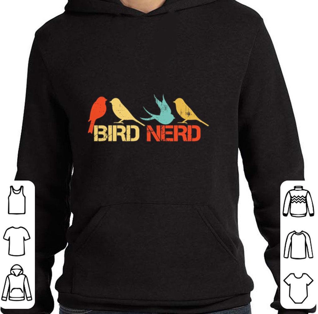 Official Bird Nerd vintage shirt