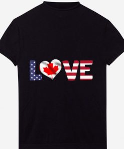 Official Canada USA Flag Heart Canadian Americans Love shirt 1 1 247x296 - Official Canada USA Flag Heart Canadian Americans Love shirt