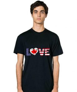 Official Canada USA Flag Heart Canadian Americans Love shirt 2 1 247x296 - Official Canada USA Flag Heart Canadian Americans Love shirt