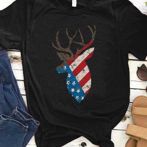 Official Hunting Deer Skull Flag Shirt 1 1 510x510 - Official Hunting Deer Skull Flag Shirt