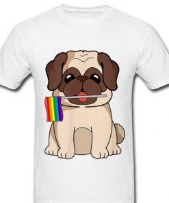 Official LGBT Pride Cute Pug Dog With Rainbow Flag Gay Lesbian Love Shirt 2 1 247x296 - Official LGBT Pride Cute Pug Dog With Rainbow Flag Gay Lesbian Love Shirt