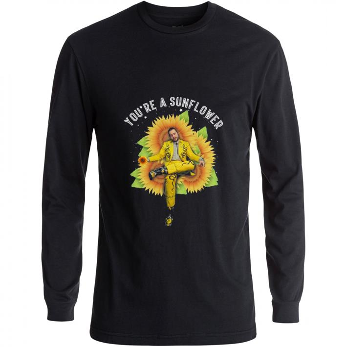 Official Post Malone You're a sunflowers shirt