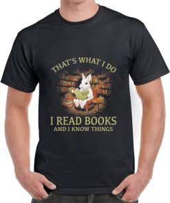 Official Rabbit that s what i do i read books and i know things shirt 2 1 247x296 - Official Rabbit that's what i do i read books and i know things shirt