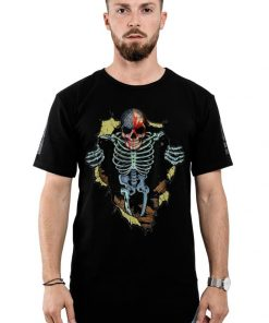 Official Skull With American And Canadian Flag shirt 2 1 247x296 - Official Skull With American And Canadian Flag shirt