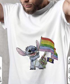 Official Stitch LGBT flag shirt 2 1 247x296 - Official Stitch LGBT flag shirt