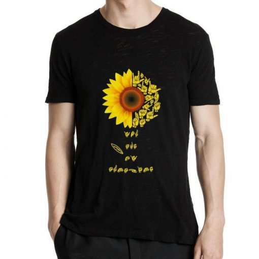 Official Sunflower sign language you are sunshine shirt 2 1 510x510 - Official Sunflower sign language you are sunshine shirt