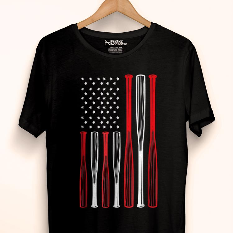 Original 4th July Baseball Distressed Usa Flag Patriotic shirt