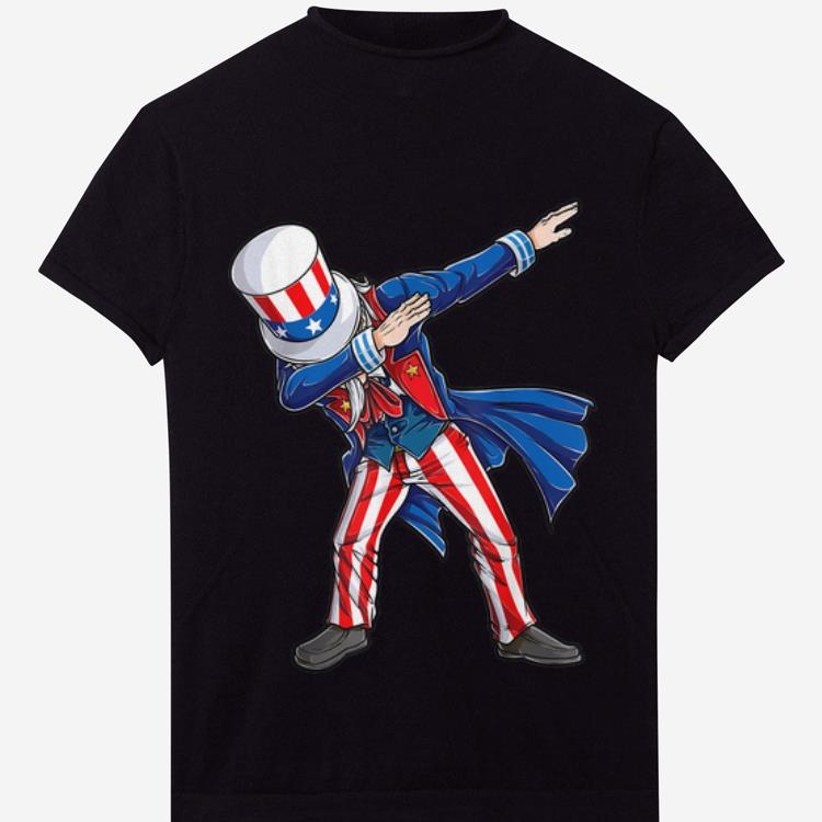 Original 4th Of Julys For Dabbing Uncle Sam Gifts Shirt