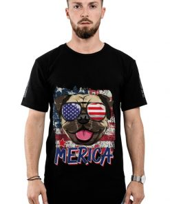 Original American Flag Pug Dog Merica American Sunglasses 4th Of July shirt 2 1 247x296 - Original American Flag Pug Dog Merica American Sunglasses 4th Of July shirt