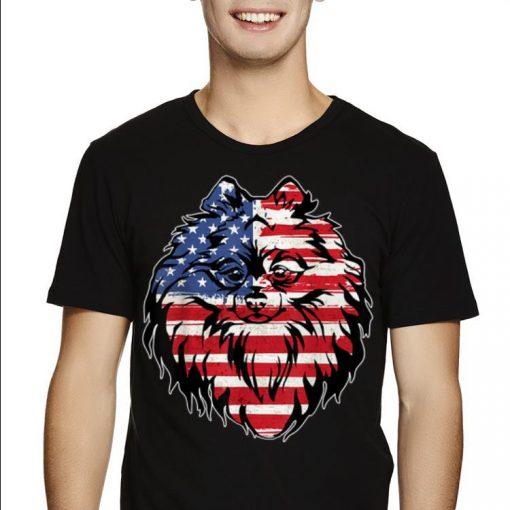 Original Funny Pomeranian American Flag 4th Of July shirt 2 1 510x510 - Original Funny Pomeranian American Flag 4th Of July shirt