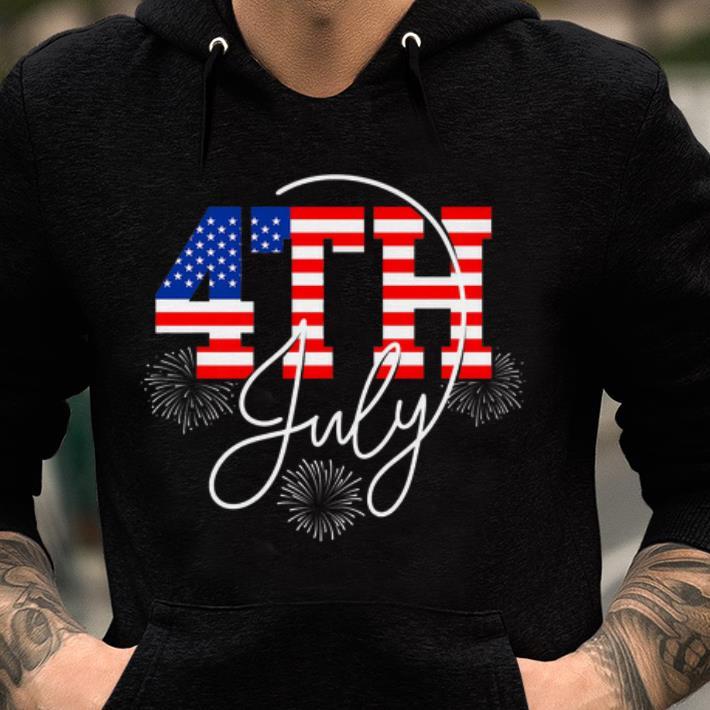 Original Happy 4 July Great Family American Flag shirt