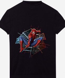 Original Marvel Spider man Broken Glass Web Leap Graphic Shirt 1 1 247x296 - Original Marvel Spider-man Broken Glass Web Leap Graphic Shirt