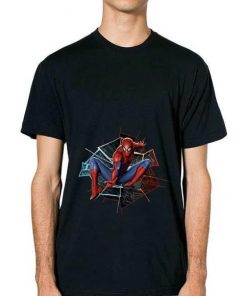 Original Marvel Spider man Broken Glass Web Leap Graphic Shirt 2 1 247x296 - Original Marvel Spider-man Broken Glass Web Leap Graphic Shirt