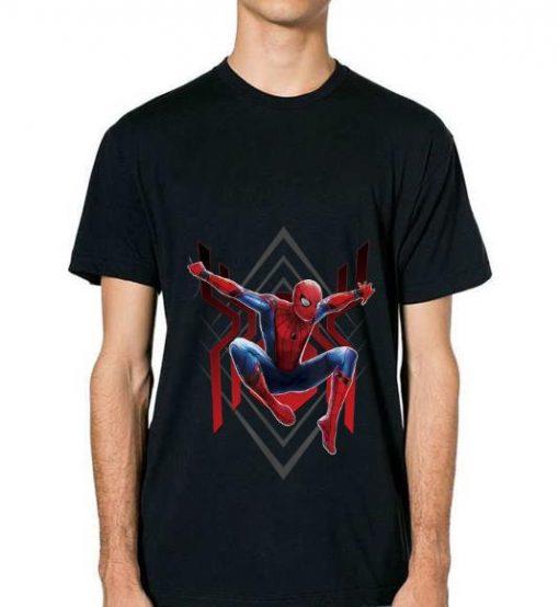 Original Marvel Spider man Far From Home Geometric Jumping Portrait Shirt 2 1 510x554 - Original Marvel Spider-man Far From Home Geometric Jumping Portrait Shirt