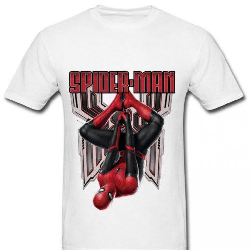 Original Marvel Spider man Far From Home Hanging Shirt 2 1 510x510 - Original Marvel Spider-man Far From Home Hanging Shirt