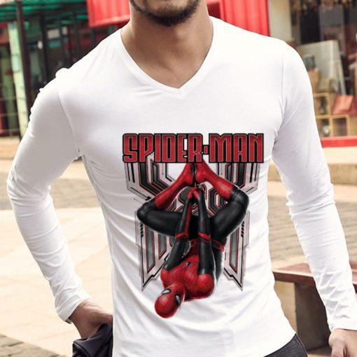 Original Marvel Spider man Far From Home Hanging Shirt 3 1 510x510 - Original Marvel Spider-man Far From Home Hanging Shirt