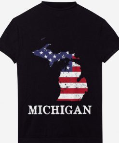Original Michigan Map State American Flag 4th Of July Pride Tee Shirt 1 1 247x296 - Original Michigan Map State American Flag 4th Of July Pride Tee Shirt
