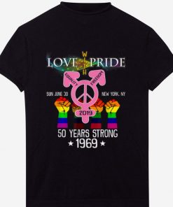 Original NYC Gay Pride Parade Anniversary 50 Years Strong shirt 1 1 1 247x296 - Original NYC Gay Pride Parade Anniversary - 50 Years Strong shirt