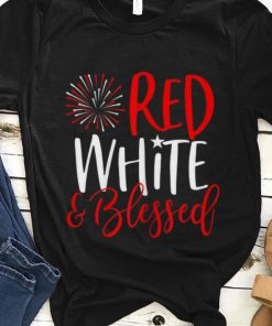 Original Red White And Blessed 4th of July Cute Patriotic America Shirt 1 1 247x296 - Original Red White And Blessed 4th of July Cute Patriotic America Shirt