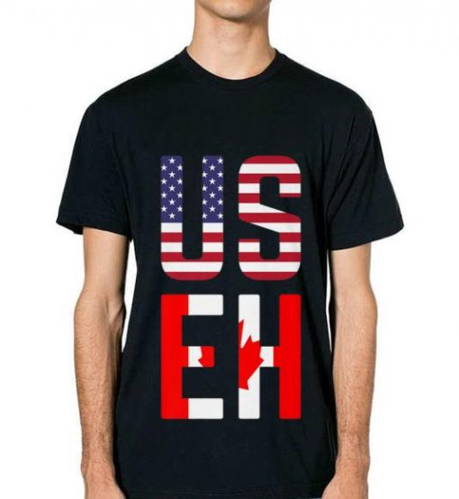 Original Useh America Canada Flag American Canadian Tee Shirt 2 1 510x554 - Original Useh America Canada Flag American Canadian Tee Shirt