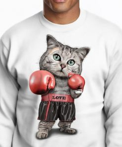 Original Womens Funtacy Tee Boxing Cat Shirt 2 1 247x296 - Original Womens Funtacy Tee Boxing Cat Shirt