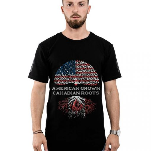 Premium American Grown Canadian Roots Us Flag Happy Independence Day And Canada Day shirt 2 1 510x510 - Premium American Grown Canadian Roots Us Flag Happy Independence Day And Canada Day shirt
