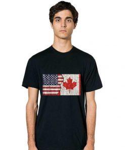 Premium Canadian American Canadian American Flag shirt 2 1 247x296 - Premium Canadian American Canadian American Flag shirt