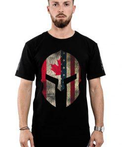 Premium Canadian American Pride Canada Spartan Helmet shirt 2 1 247x296 - Premium Canadian American Pride - Canada Spartan Helmet shirt