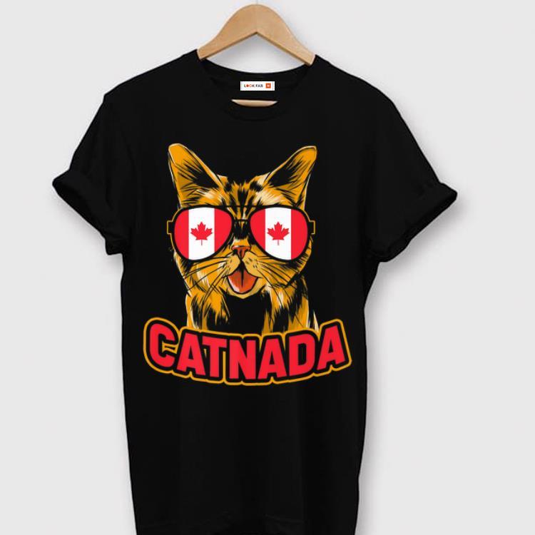Premium Canadian Cat Catnada Animal Flag Canada Premium shirt