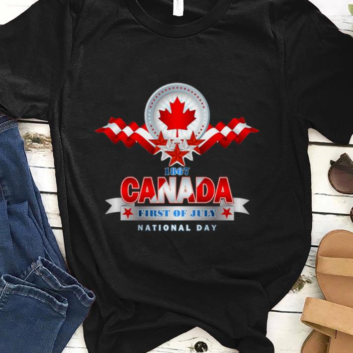 Premium First Of July Canada National Day Shirt