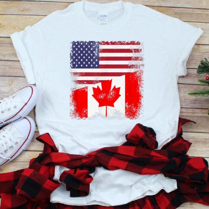 big and tall t-shirt Canadian flag Canada shirt tall shirts for men
