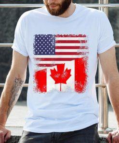 Premium Half Canadian Flag American Flag Canada USA Day Shirt 2 1 247x296 - Premium Half Canadian Flag American Flag Canada USA Day Shirt