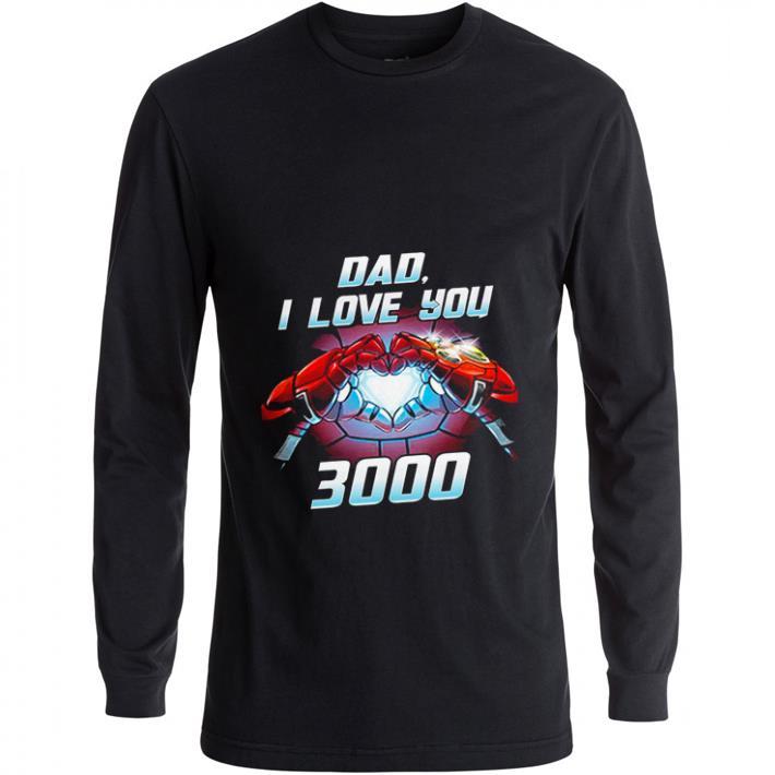 6b5632dc8 Premium Iron Man dad i love you 3000 Avengers Endgame shirt - Kutee ...