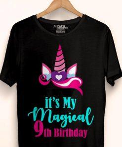 Premium Unicorn 9th Birthday Party Girl 9 Years Old Shirt 1 1 247x296 - Premium Unicorn 9th Birthday Party Girl 9 Years Old Shirt