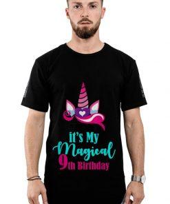 Premium Unicorn 9th Birthday Party Girl 9 Years Old Shirt 2 1 247x296 - Premium Unicorn 9th Birthday Party Girl 9 Years Old Shirt