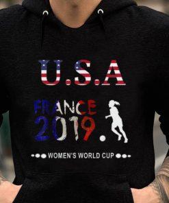 Premium Usa Flag France 2019 Women s World Cup Shirt 2 1 247x296 - Premium Usa Flag France 2019 Women's World Cup Shirt