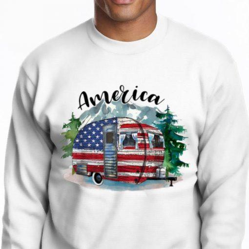 Pretty Camping America Flag July Of 4th Happy Independence Day shirt 2 1 510x510 - Pretty Camping America Flag July Of 4th Happy Independence Day shirt