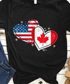 Pretty Canada America Flag Heart For Canadian American shirt 1 1 247x296 - Pretty Canada America Flag Heart For Canadian American shirt