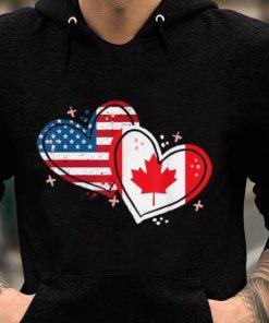 Pretty Canada America Flag Heart For Canadian American shirt 2 1 247x296 - Pretty Canada America Flag Heart For Canadian American shirt