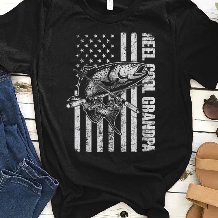 0bb18acd Premium Trending, fishing Trending shirt this Season : Reel Cool, Fishing,  Father Day, Grandpa