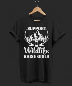 Support Wildlife Raises Girls Hunting Father Day shirt 1 1 247x296 - Support Wildlife Raises Girls Hunting Father Day shirt